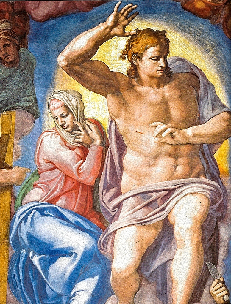 Sistine Chapel - Vatican Museums -Last Judgement Detail
