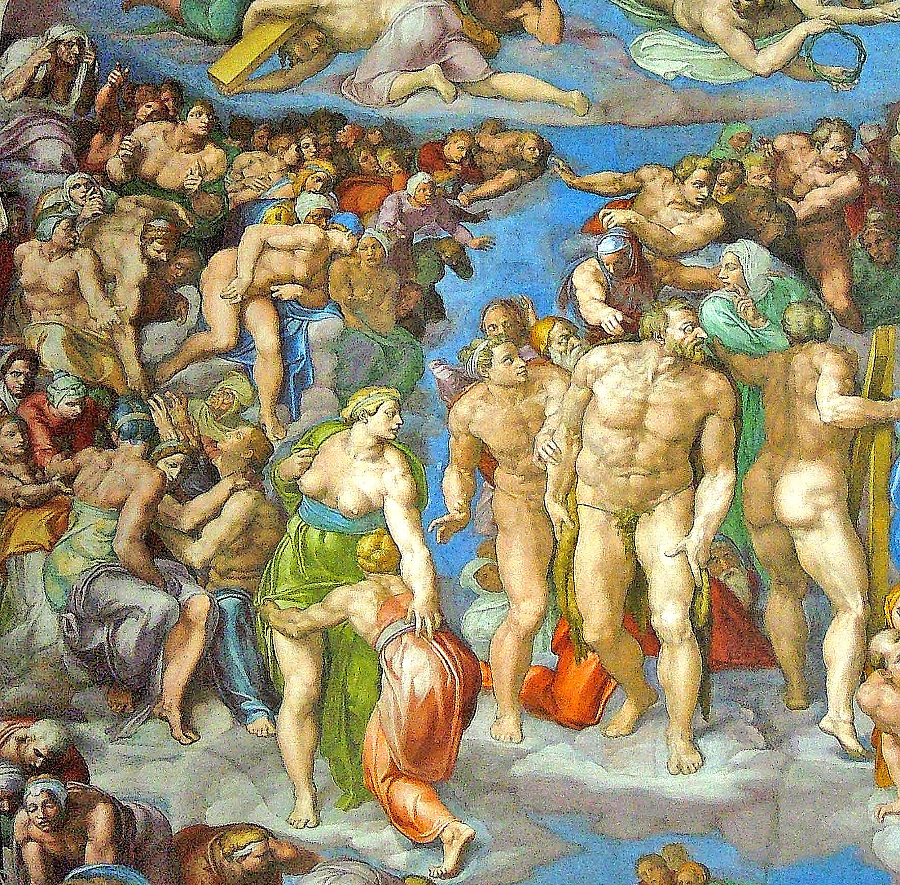 Sistine Chapel - Vatican Museums - Detail View (5)