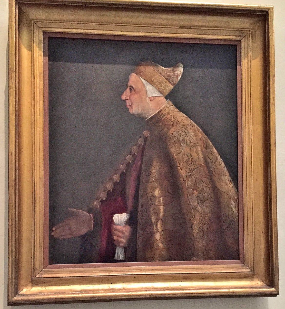Titian - Portrait of Nicolo Marcello - Vatican Art Gallery