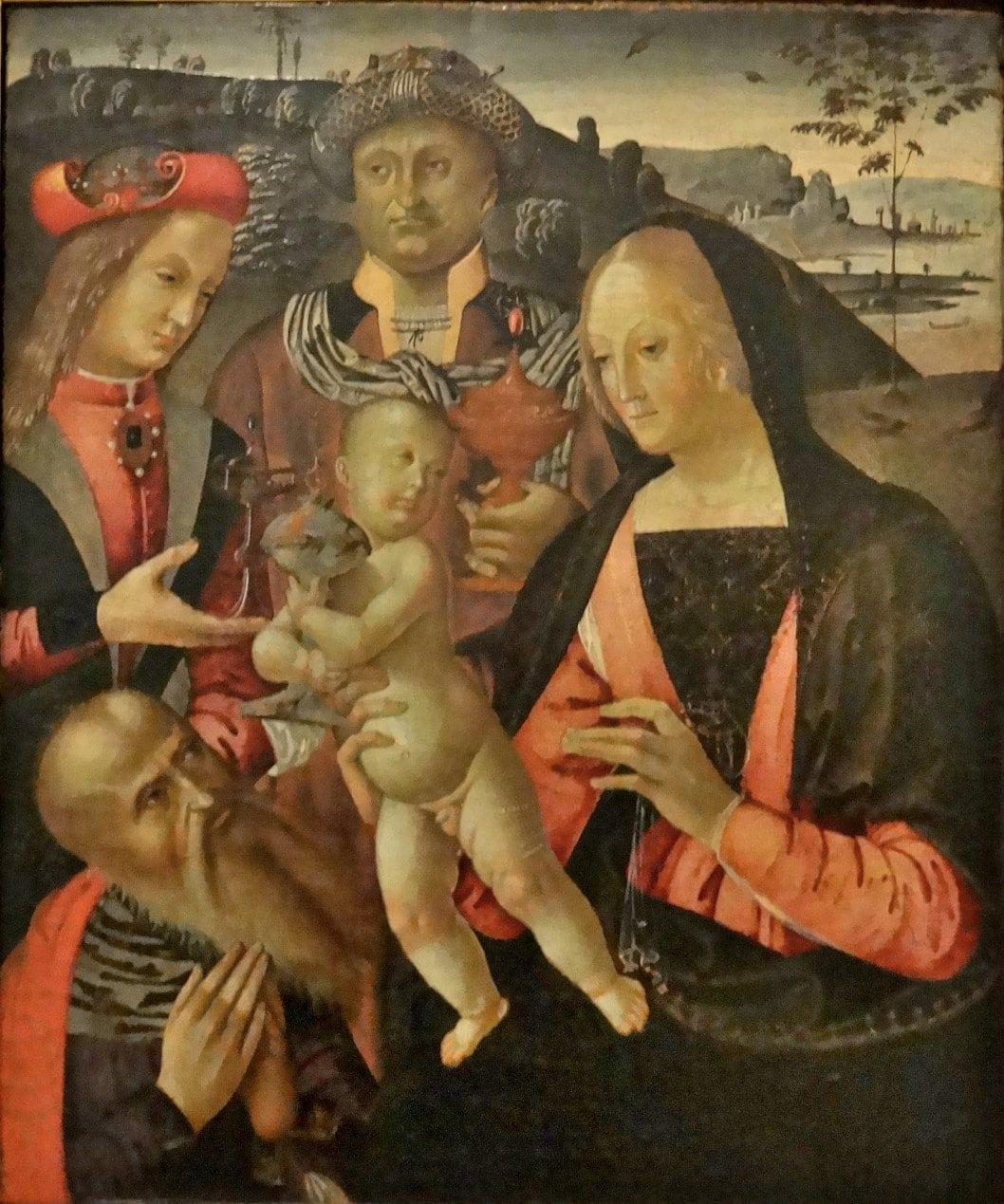 Vatican Art Gallery -Bernardino di Mariotto dello Stagno (c1478-1566) - Adoration of the Magi