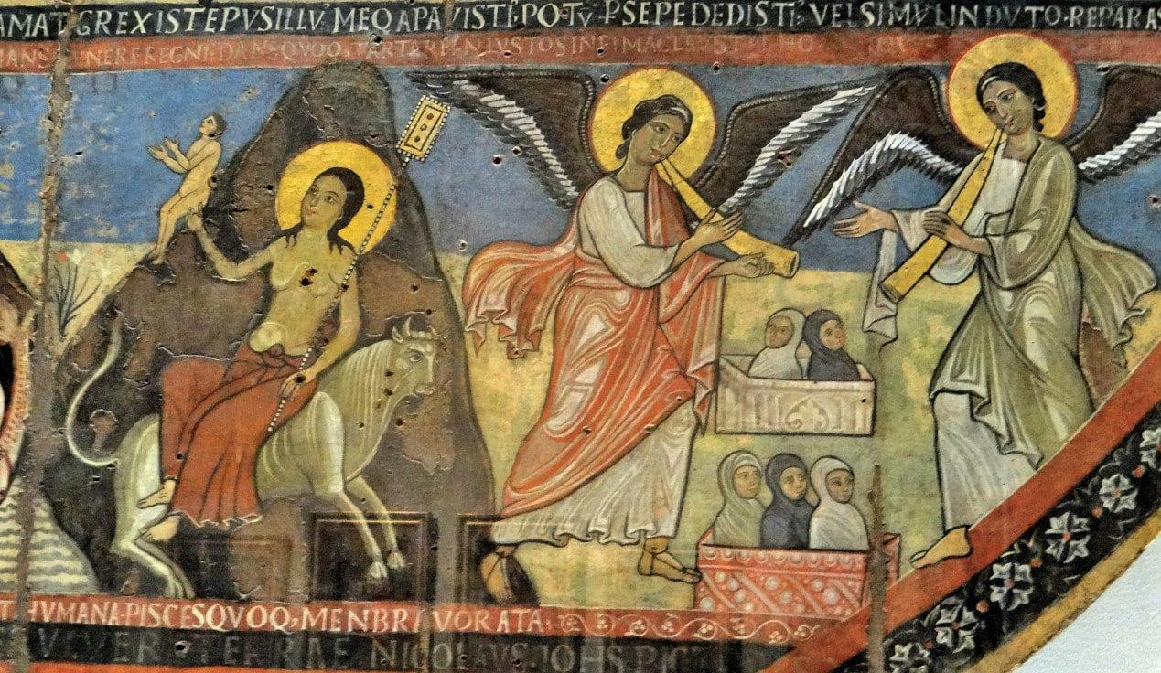 Vatican Art Gallery Niccolo and Giovanni - Last Judgement