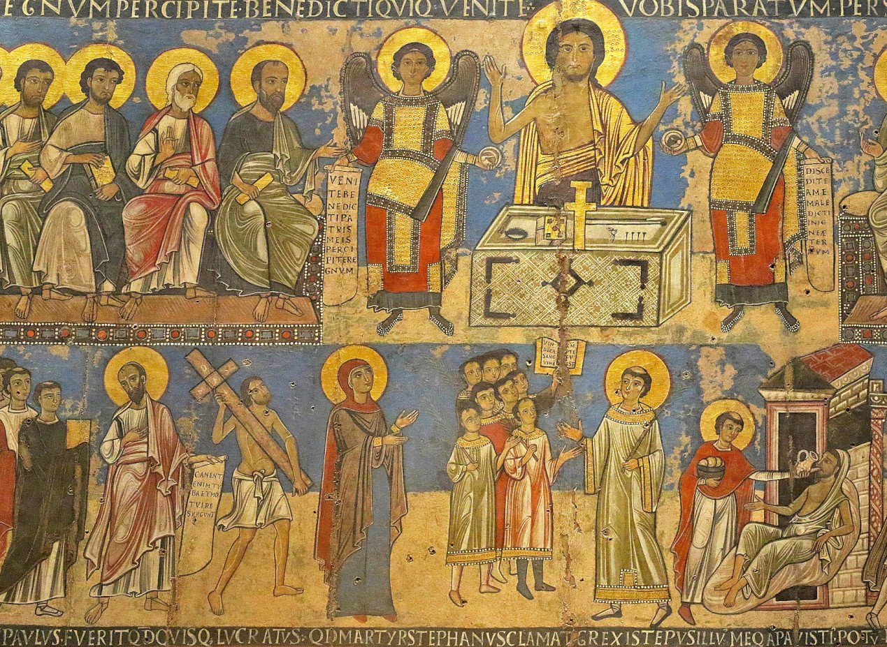Vatican Art Gallery - Nicolaus and Johannes - Final Judgment-11th century.
