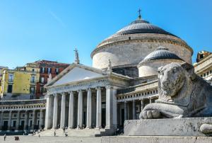 Naples- Piazza del Plebiscito