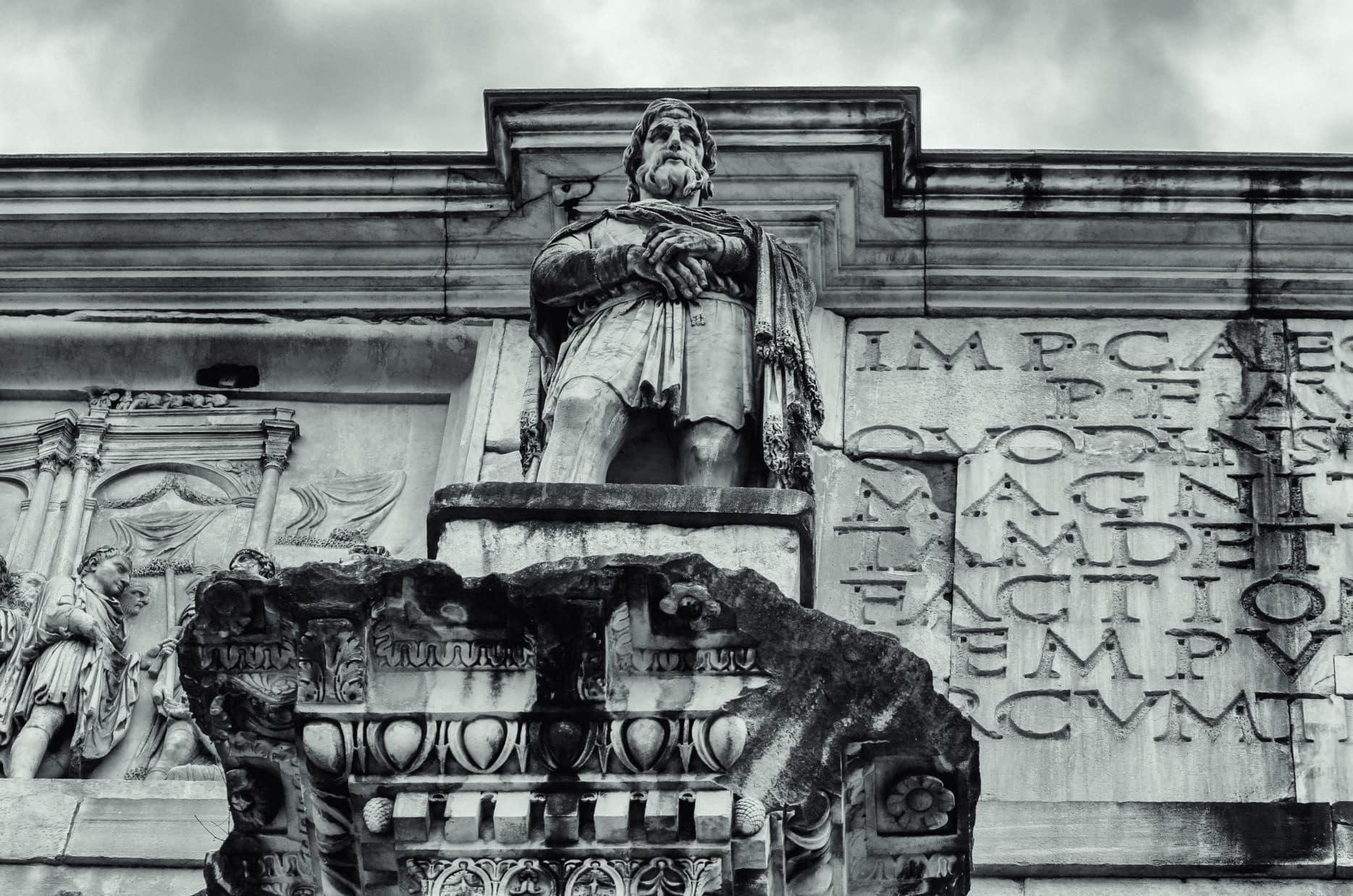 Arch of Constantine - North Façade