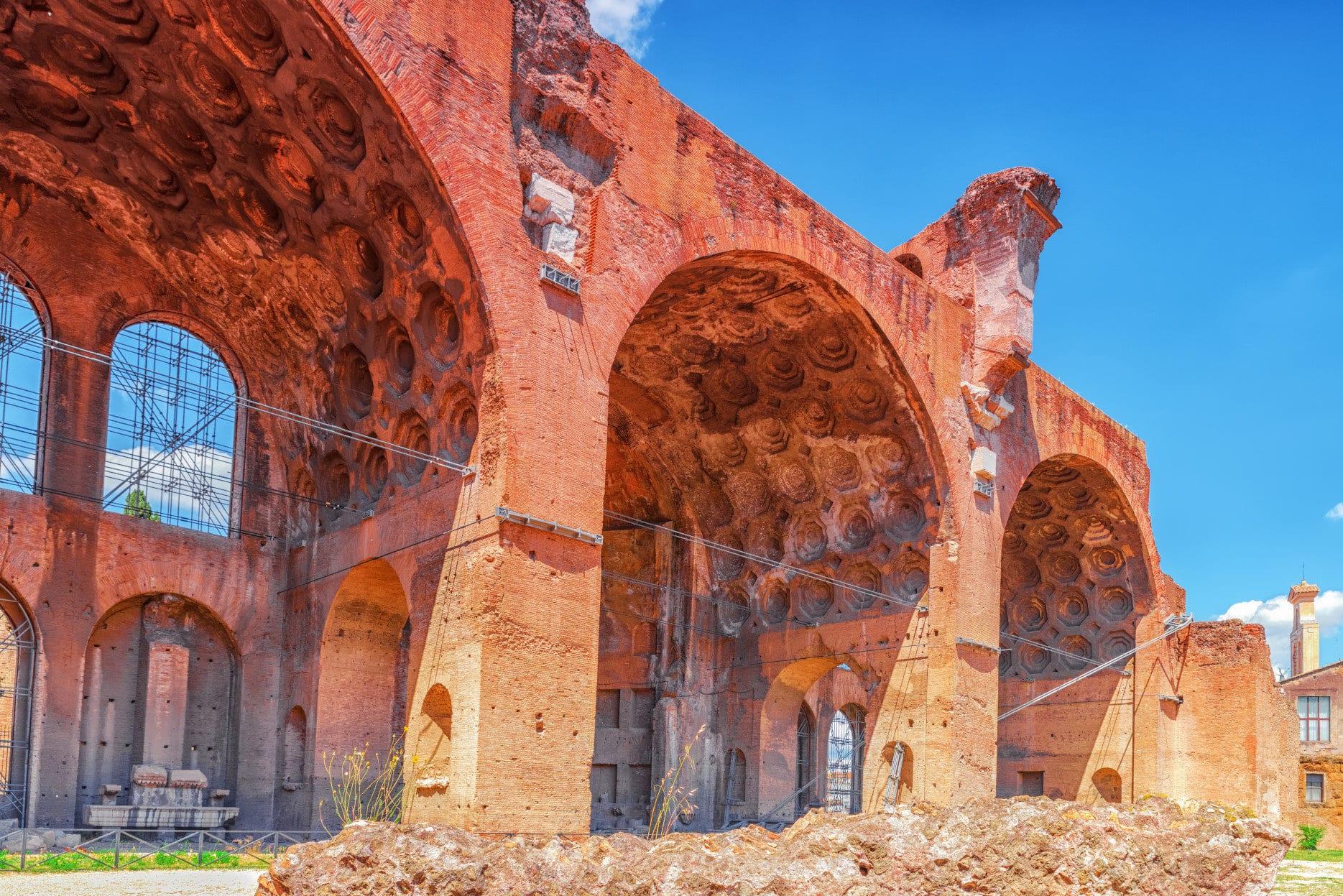 Basilica of Maxentius (Basilica di Massenzio).