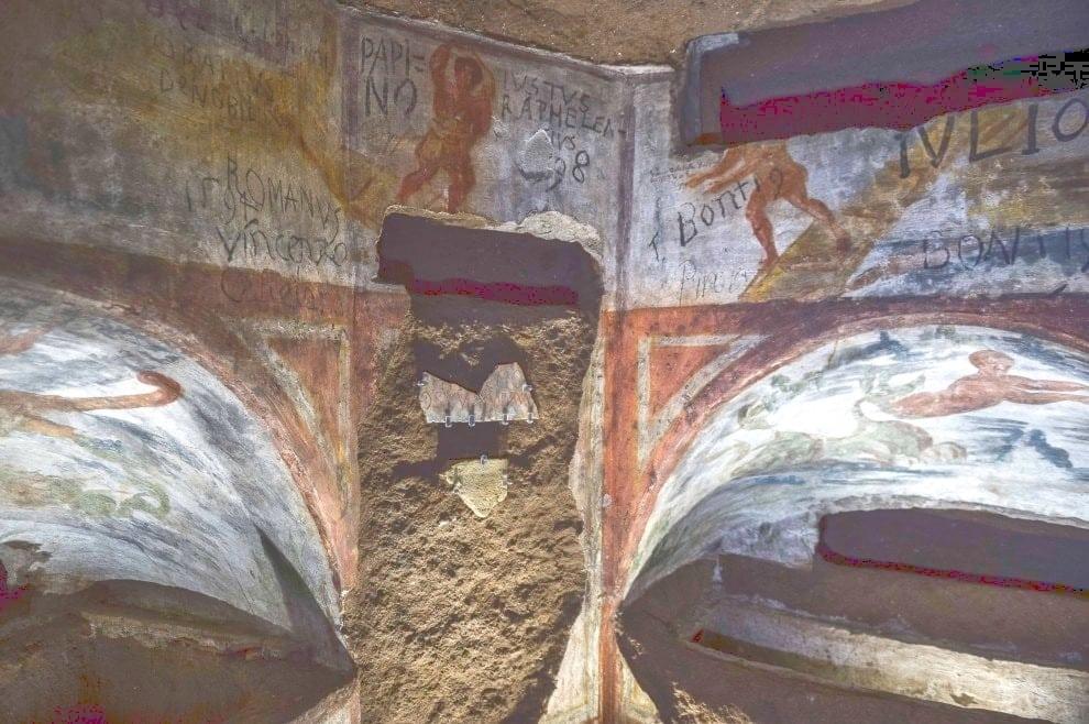 Catacombe di Domitilla-Catacombs of St. Domitilla