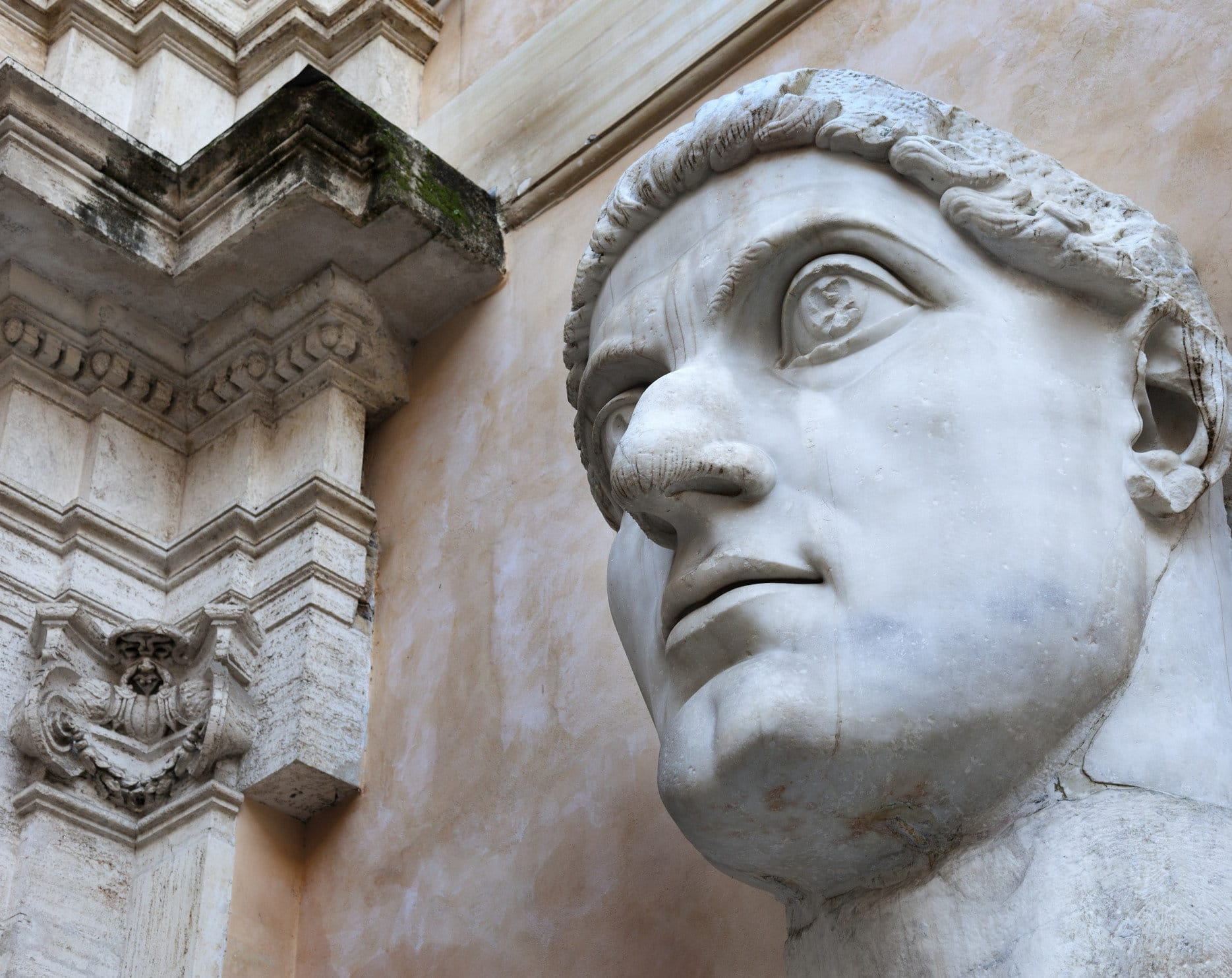 Constantine the Great Roman Emperor who made Christianity the Official Religion of Rome