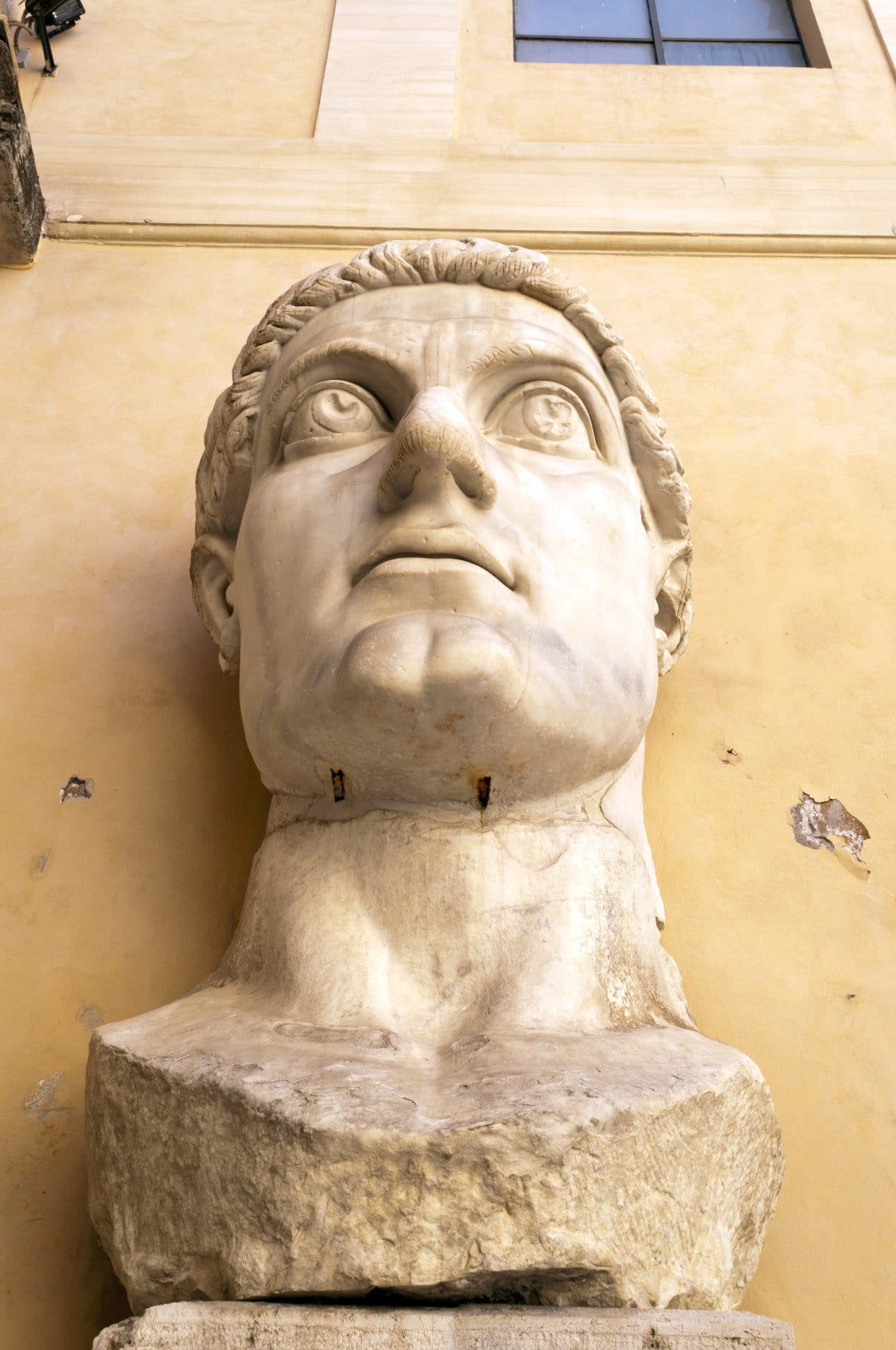 Constantine's Head - Capitoline Museums