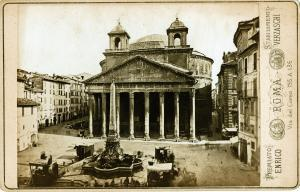 Bell-Towers of Pantheon., 1880.