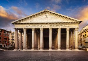 Rome in Two Days : Famous Pantheon