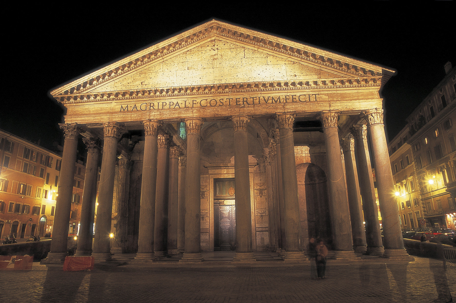 Pantheon by night.