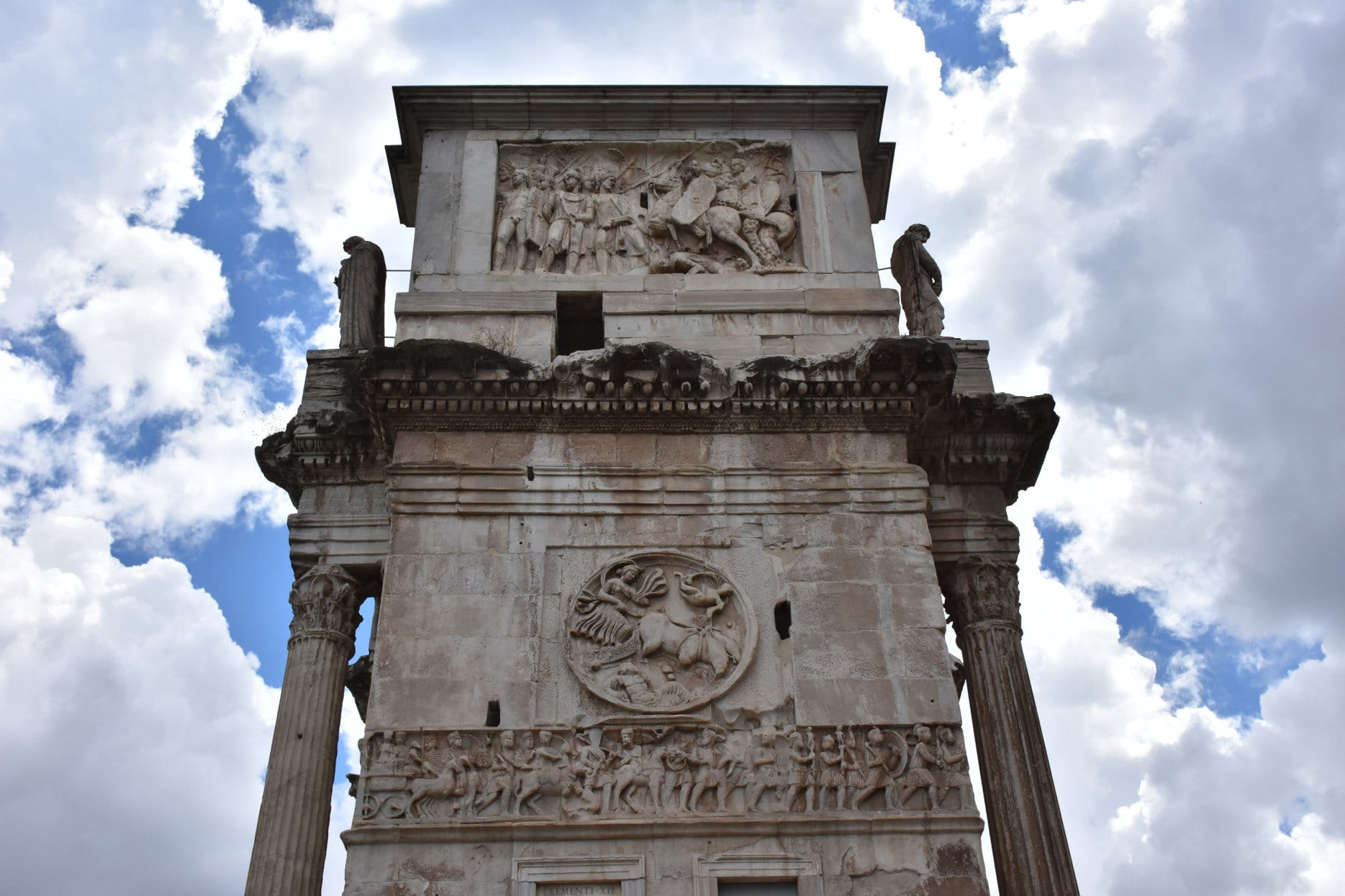 East Short Side of Arch of Constantine
