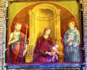 Madonna of Clemency - Pantheon
