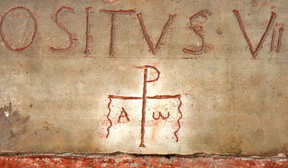 Early Christian Symbols - Catacombe di Santa Ciriaca
