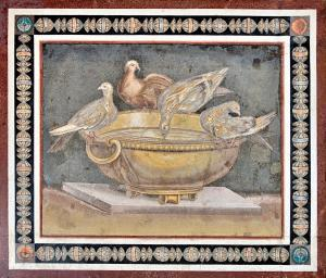 Mosaic of Doves - Capitoline Museums