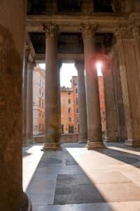 Pantheon Portico