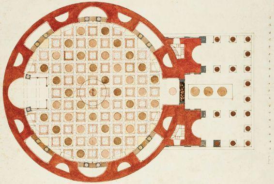Pavement of Pantheon