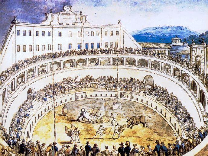 Reconstruction Sketch - Mausoleum Augustus