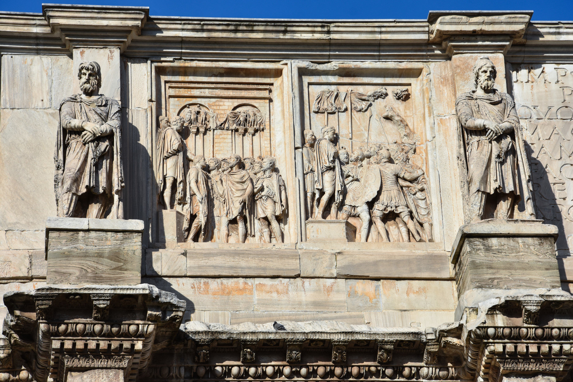 Relief of the Arch of Constantine.