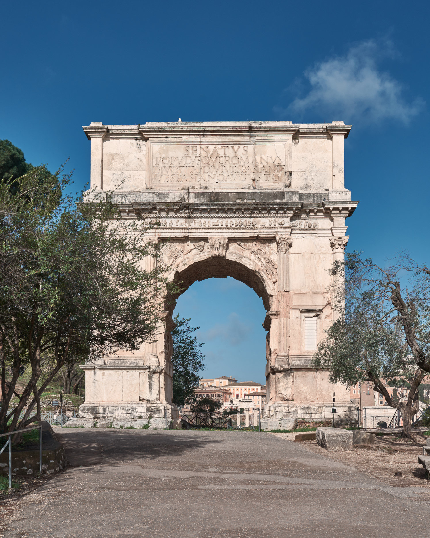Rome, Arch of Titus