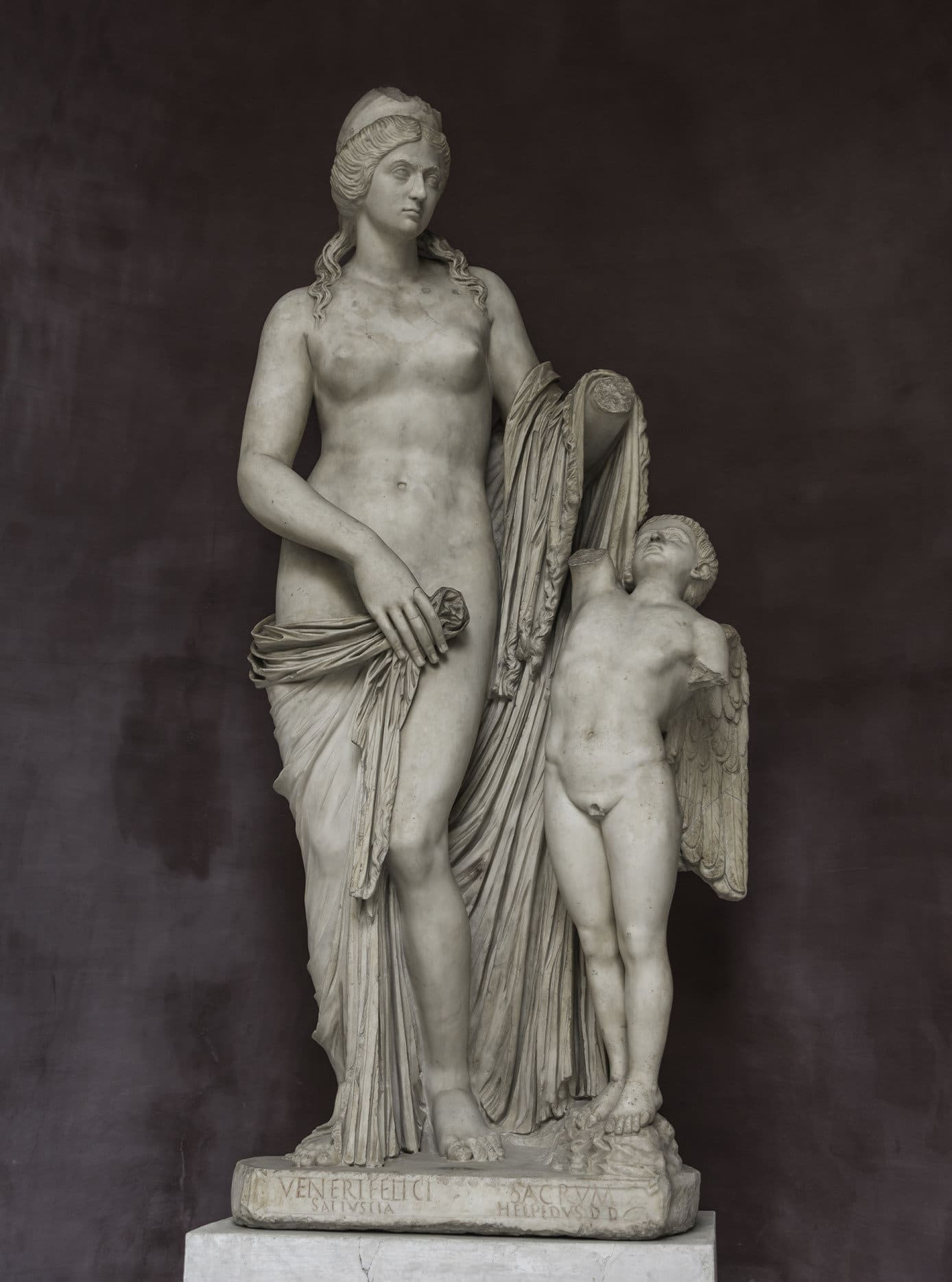 Statue of Venus with a boy, Capitoline Museums