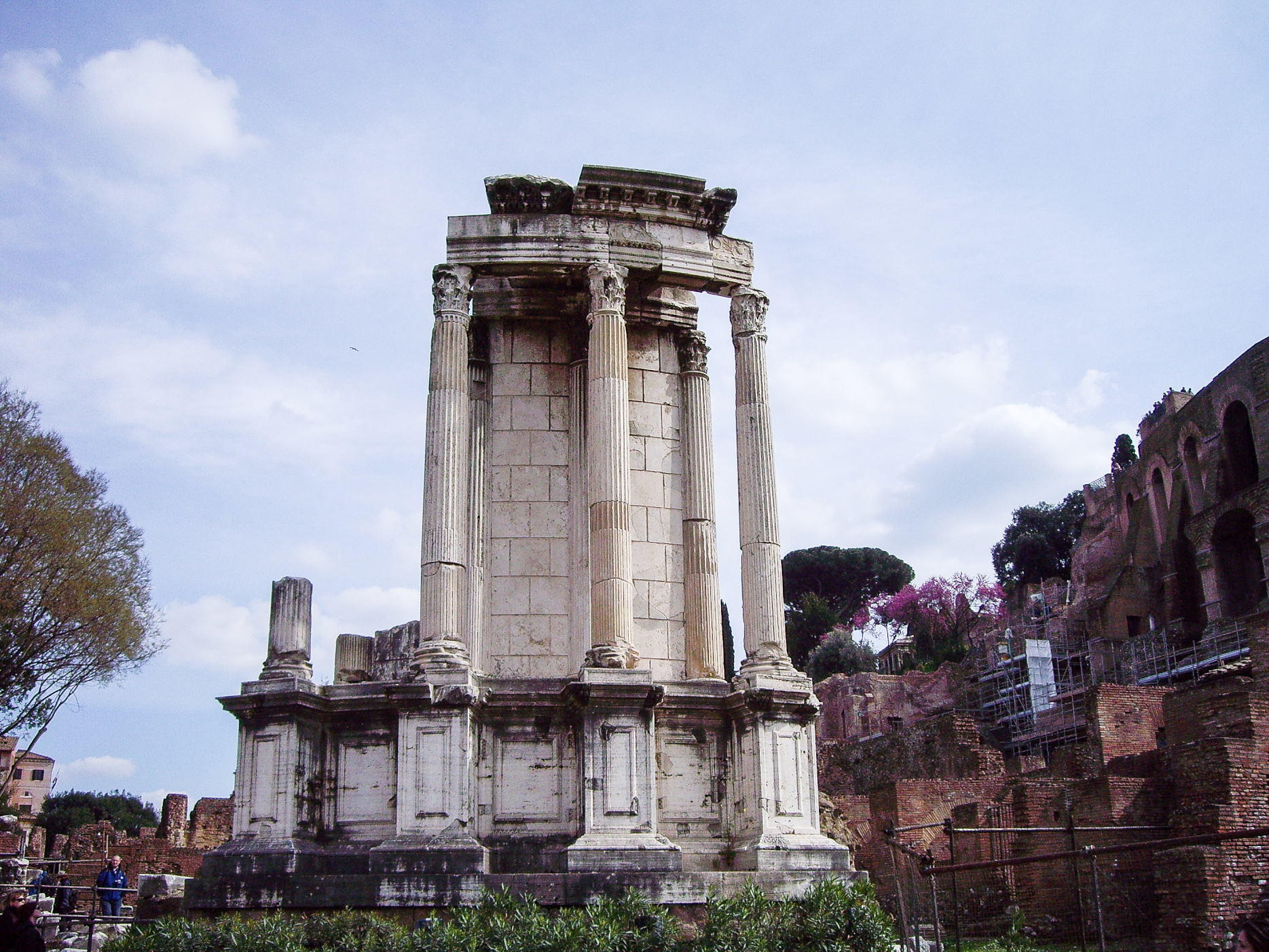 Temple Of Vesta Colosseum Rome Tickets