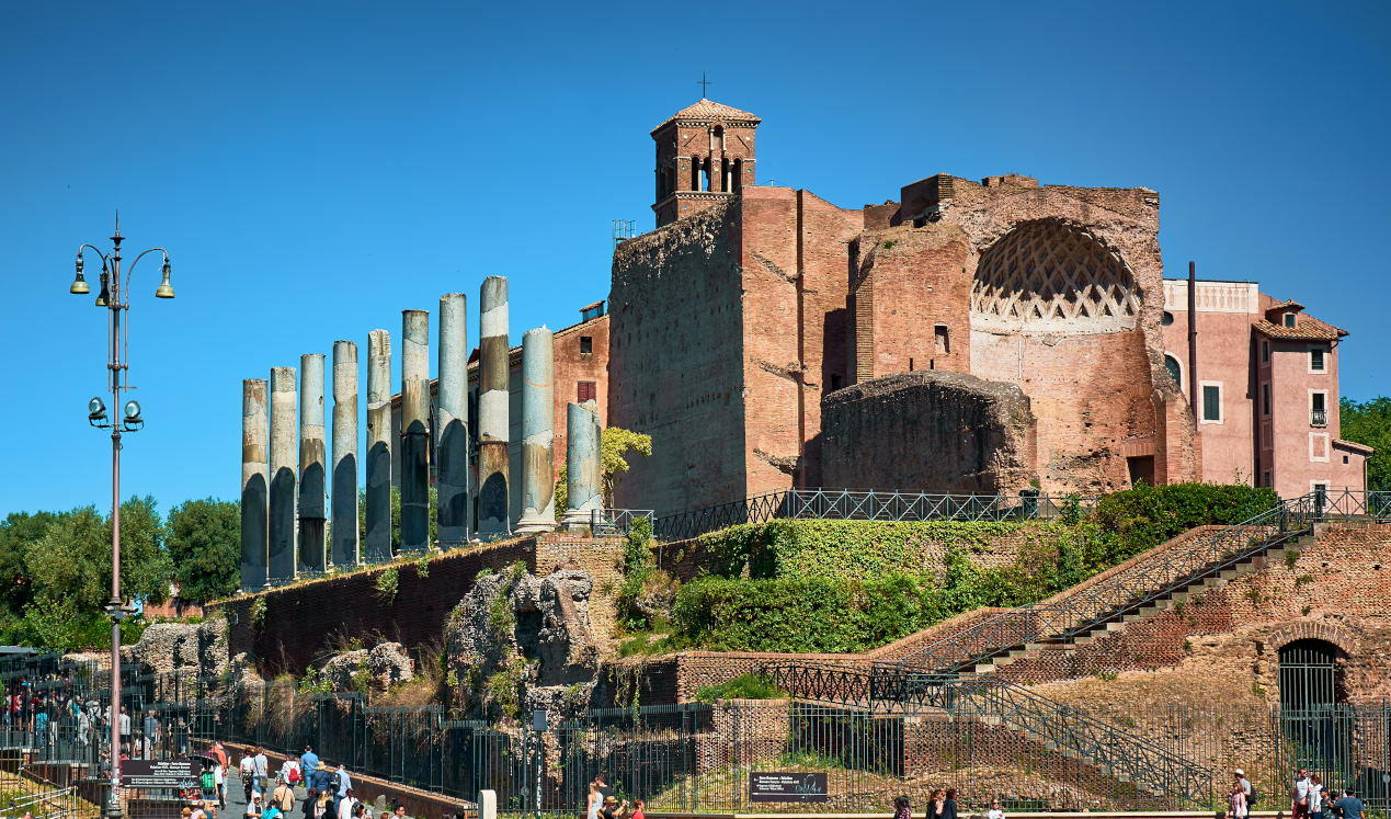 Temple of Venus and Roma - Colosseum Rome Tickets