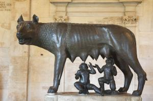 The Capitoline Wolf - Capitoline Museums