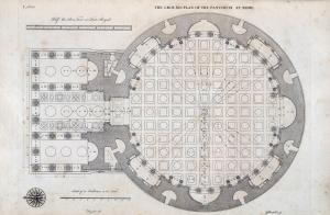 The Ground Plan of the Pantheon