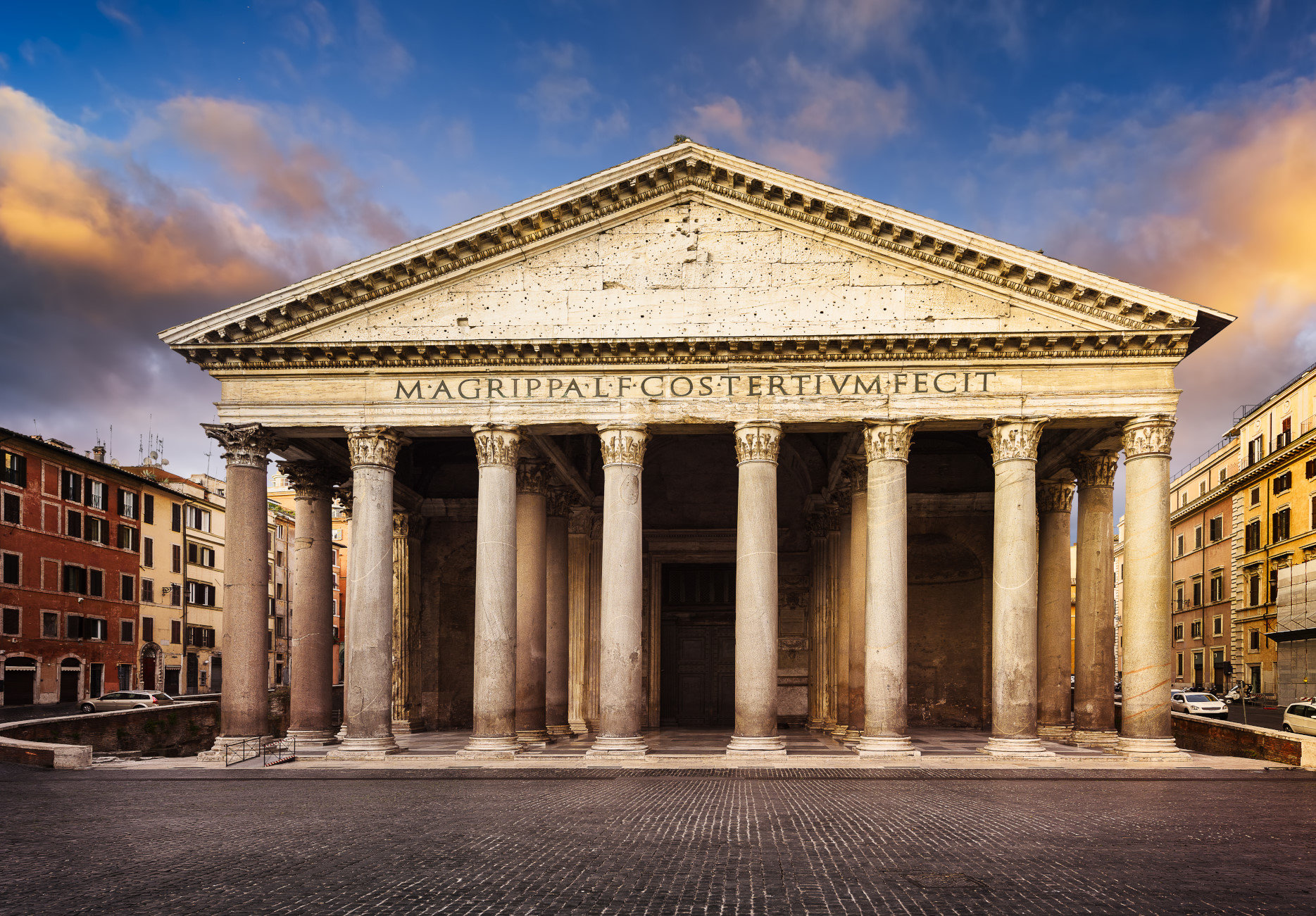Pantheon - Colosseum Rome Tickets