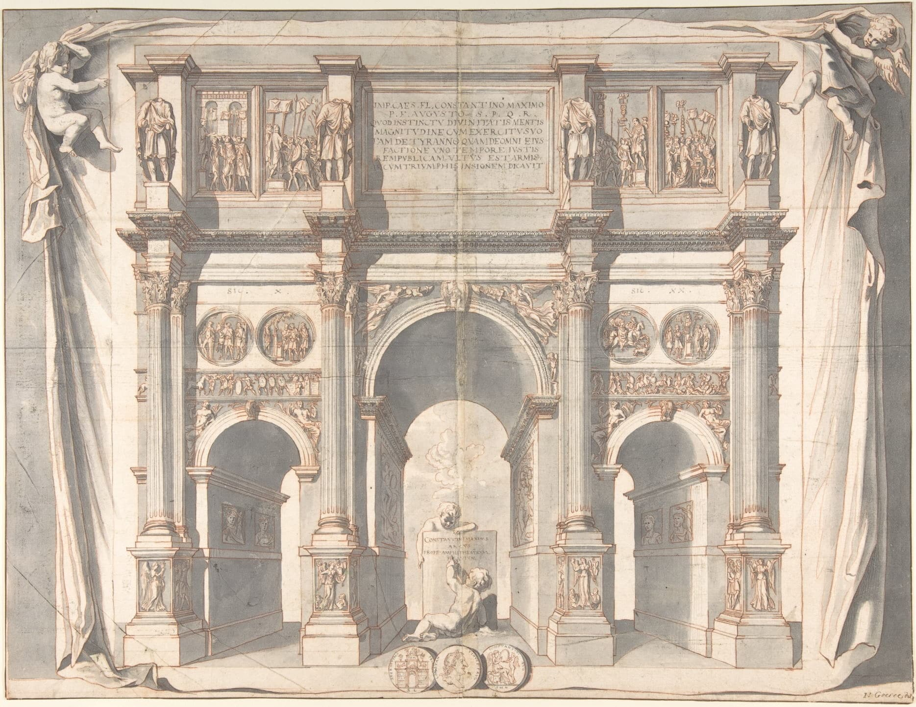Arch of Constantine Drawings