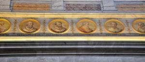 medallions - basilica of Saint Paul Outside the Walls