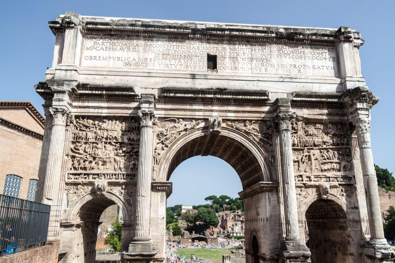 Arch Of Septimius Severus Colosseum Rome Tickets