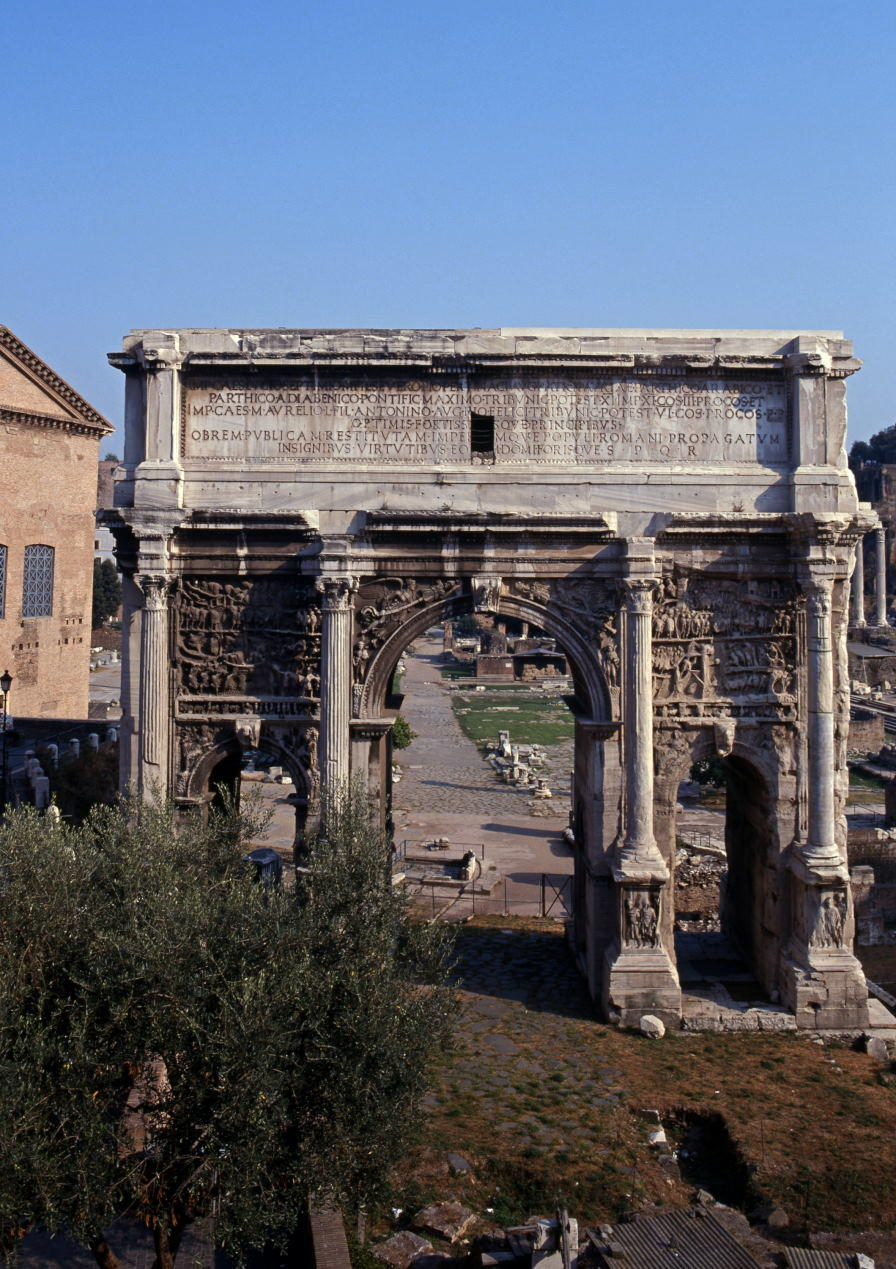 Arch of Septimius Severus within the Roman Foru