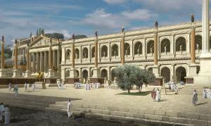 Reconstructed Illusion of Basilica Julia