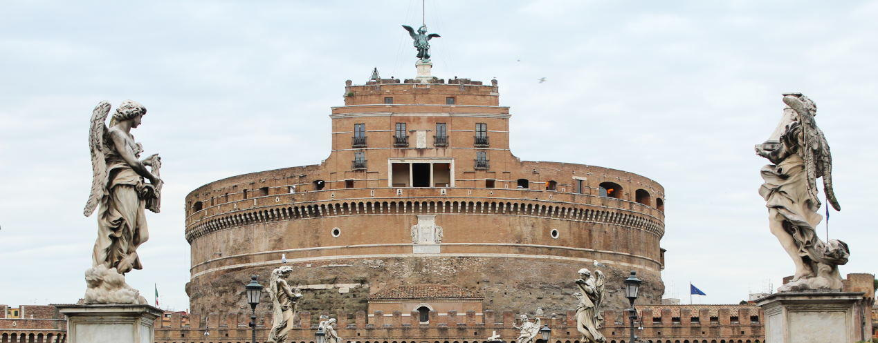 Castle Sant'Angelo in Rome, Italy