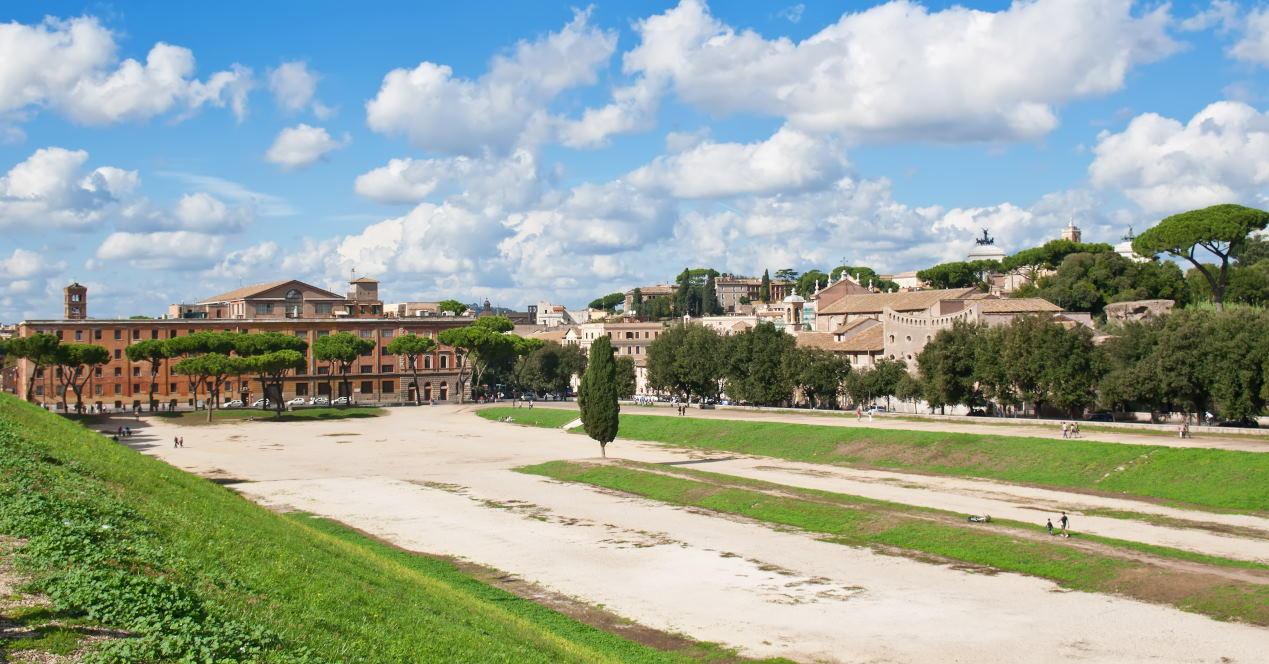 Circus Maximus in Rome, Italy