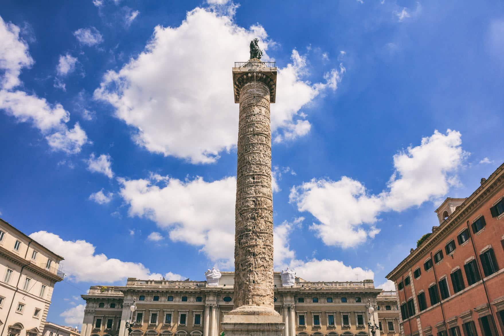 Column of Marcus Aurelius - Colosseum Rome Tickets