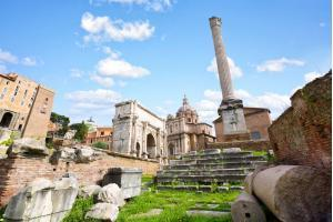 The last ancient structure in Roman Forum: Column of Phocas