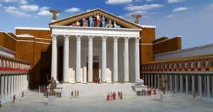 Forum of Augustus - 3D Model