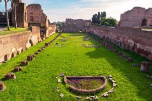 Hippodrome of Domitian on the Palatine Hill -Rome, Italy
