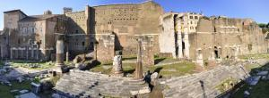 Forum of Augustus with the remains of Temple of Mars Ultor