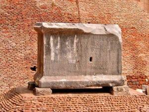 Lapis Niger - Roman Forum
