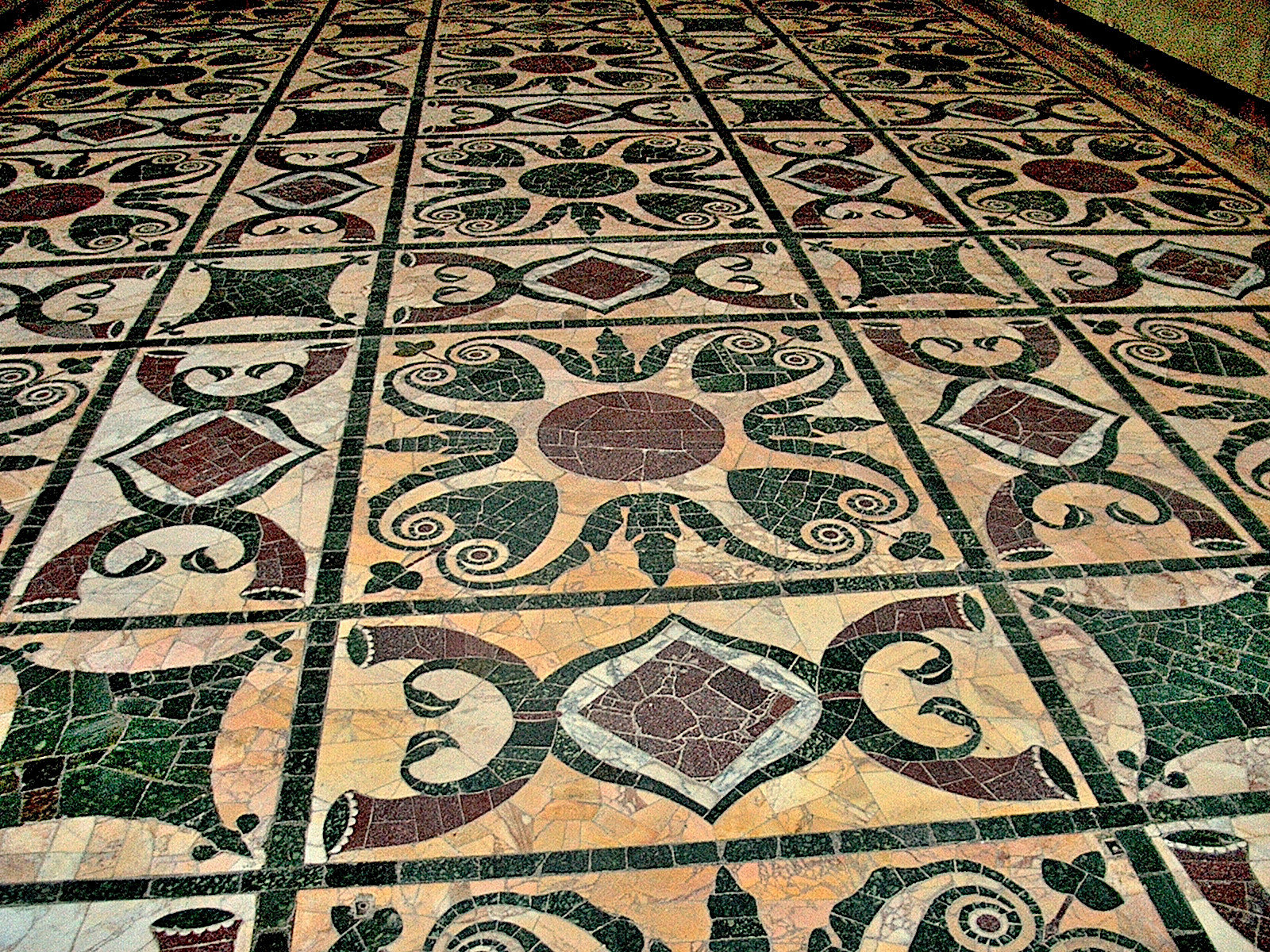 Marble floor of Curia Julia (1)