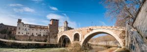 Ponte Fabricio and Tiber island