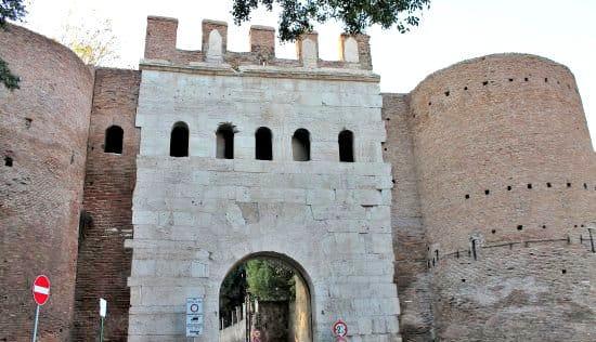 Porta Latina, Aurelian Walls.