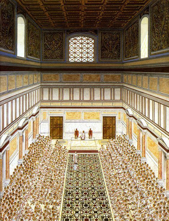 Reconstruction Drawing of Curia Julia