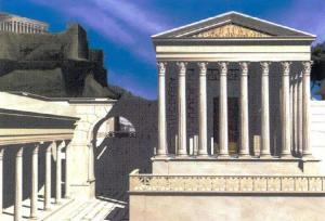 Reconstruction Model of Forum of Caesar