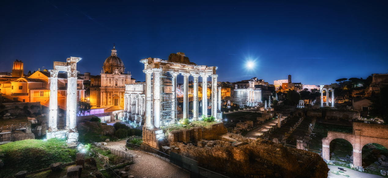 Temple of Saturn - Ancient Rome Tours