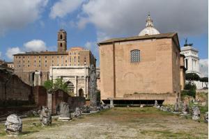 Ruins of Basilica Aemilia.